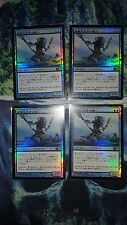 MASTER OF THE PEARL TRIDENT 4X FOIL JAPANESE NM TRACKED SHIPPING WORLDWIDE