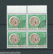 PRÉOBLITÉRÉS - 1964-69 YT 123 bloc de 4 - TIMBRES NEUFS** LUXE