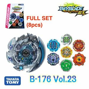 Takara Tomy Beyblade Burst Super King B-176  Booster Vol.23 FULL SET