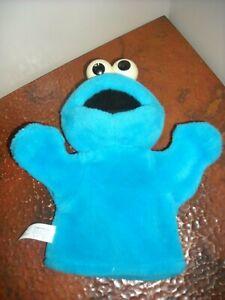 "2004 Cookie Monster Mattel Plush Puppet 10"""