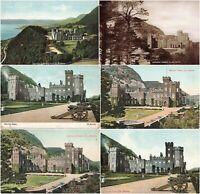 Rare Vintage Postcards - Garron Tower & Points - Co. Antrim Northern Ireland.