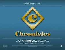 TORONTO BLUE JAYS 2020 PANINI CHRONICLES BASEBALL 4 BOX TEAM BREAK 1/4 CASE #15