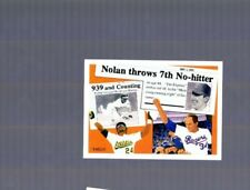 New listing 1991 Upper Deck Baseball #SP2 Nolan Ryan & Rickey Henderson Baseball Card