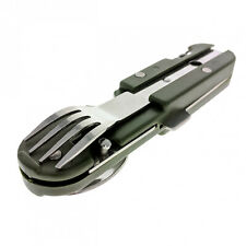 ASR Outdoor 6 in 1 Camping Utensil Multi-Tool with Carrying Case