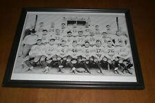1933 CHICAGO BEARS WORLD CHAMPS FRAMED B&W TEAM PRINT
