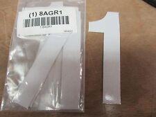 Label, 1, Silver, 4 In. H, Pk5 Electromark #Y604201(Zz0742-8Agr1)