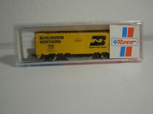 N Scale Roco Track cleaner reefer BN #64040 In box Looks barely used if at all