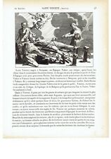 1825  San Vicente de Huesca Vakero de Zaragoza (Saint Vicente Vincenzo Valencia)