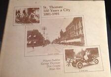 3 Vols Canadian History St Thomas Ontario Canada