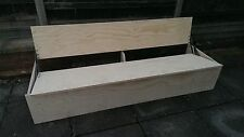 full length rock and roll bed for camper van conversion to fit lengthways of van
