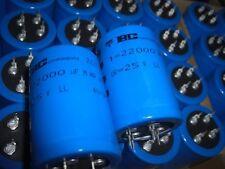 VISHAY BC Kondensator 22000uF 25V 35X50mm 85°C NEU
