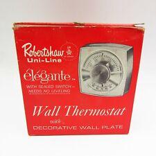 NOS Vintage Robertshaw TX400-400 Heating/Cooling Thermostat Kit - Mint Retro