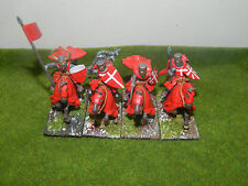 PAINTED 28MM SCALE CRUSADER KNIGHTS AE6H-262