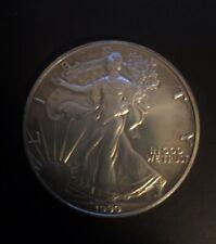 1990 Silver American Eagle Walking Liberty Dollar Unc