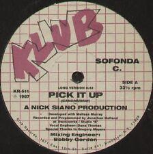 SOFONDA C - Pick It Up (A Nick Siano Production) - klub