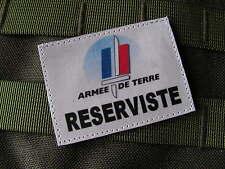 "..:: patch ::.. "" Armée de terre - RESERVISTE "" VIGIPIRAT TIOR FMIR ISTC SCRATCH"