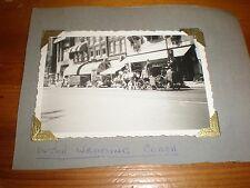 Old photo wedding coach Amsterdam Netherlands  1952