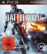PS3 Spiel Playstation PS 3 USK18 Game Battlefield 4 Disk Top Deutsch