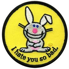 Happy Bunny - I Hate You Patch