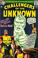 CHALLENGERS OF THE UNKNOWN #55 (1967) DC Comics    4.0