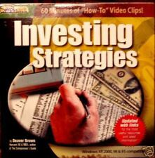 Investing Strategies Cdrom Computer Software Investment
