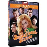 The Sensational Sixties [50 Movies, DVD, 12-Disc Set] New & Sealed