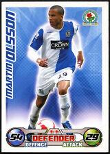 Martin Olsson - Blackburn Rovers - Match Attax 08/09 Trade Card (C415)