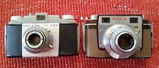 Pair of 1950's Vintage Kodak Cameras:  Kodak Pony 135 and Kodak Bantam RF