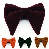 Men's Big Bowtie Novelty Wedding Tuxedo Necktie Bow Tie Classic Adjustable Hot