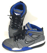 Nike Air Flight Basketball Sneakers 397204-060 Gray Black Blue Shoes Mens 10.5