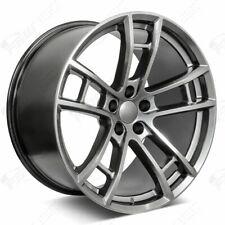 "20"" Daytona Style Hyper Black Wheels Fits Dodge Charger Challenger Magnum"
