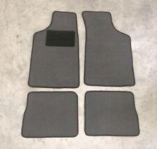 Passform-Velours-Fußmatten für Peugeot 106 Autoteppiche in grau  NEU