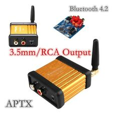 APTX 3.5mm / RCA Modified Mini Bluetooth 4.2 Audio Receiver Hi-Fi Box Adapter 5V