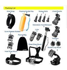 Accessories Bundle Kit GoPro Hero5 43+321 Black SJ4000 SJ5000 outdoor sports kit