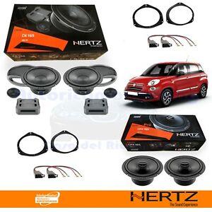 Hertz CK165 + CPX165 Casse Altoparlanti Anteriori + Posteriori FIAT 500 L