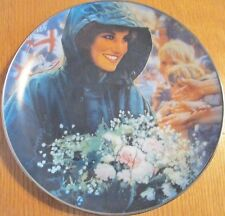 Franklin Mint Diana, Princess of Wales, The People's Princess, Collectible Plate