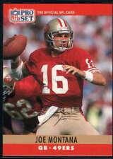 Joe Montana 1990 Pro Set #293 49ers