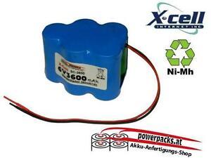 Akku für diverse Akkubetriebene Geräte, 6V3600mAh von X-CELL