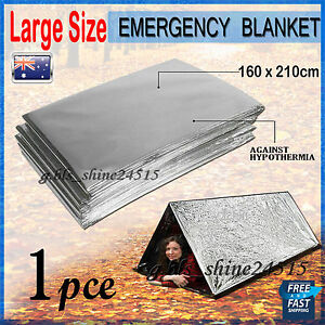 1x Emergency Space PREMIUM Blankets Camping Survival Rescue First Aid Waterproof
