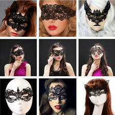 SEXY STUNNING VENETIAN MASQUERADE EYE MASK HALLOWEEN PARTY LACE FANCY DRESS NEW