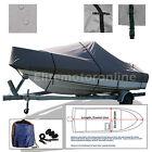 Sea Pro 186 Cc Center Console Trailerable Boat Cover Grey