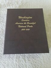 Washington Quarters America Beautiful National Parks 2010-2021 Dansco Album 7145