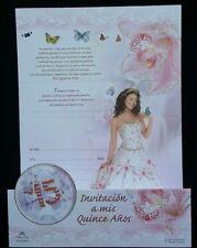 100 Invitaciones de Quinceañera (Spanish Quinceañera Invitations)Favors15 años,
