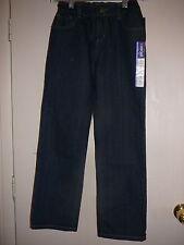 Girl's Jean's Cherokee NWT 8P Straight Plus Adjustable Waist Blue Jean
