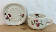 Syracuse Trend Berkeley 1 Cup & 1 Saucer Set - Fred Harvey - Santa Fe Railroad