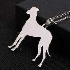 BIG Stainless Steel Natural Ear Great Dane German Mastiff Pet Dog Tag Pendant