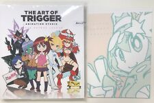 THE ART OF TRIGGER ANIMATION STUDIO 9 SPACE PATROL LULUCO BOOK C92 EDITION