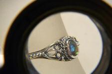 Silberring 925 Silber mit Abalone - filigran
