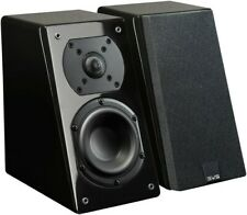 SVS Prime Elevation Effects Speakers PAIR BLACK GLOSS Height Atmos DTS:X Auro-3D