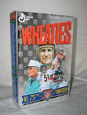 1994 WHEATIES NFL 75th Anniversary Baugh Butkus Payton Rice Shula Cereal Box